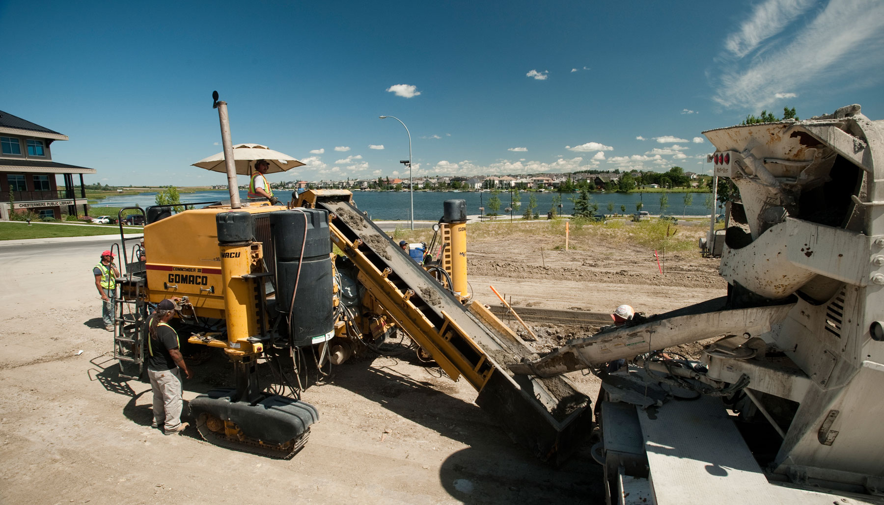 Chestermere Lake Commercial Concrete
