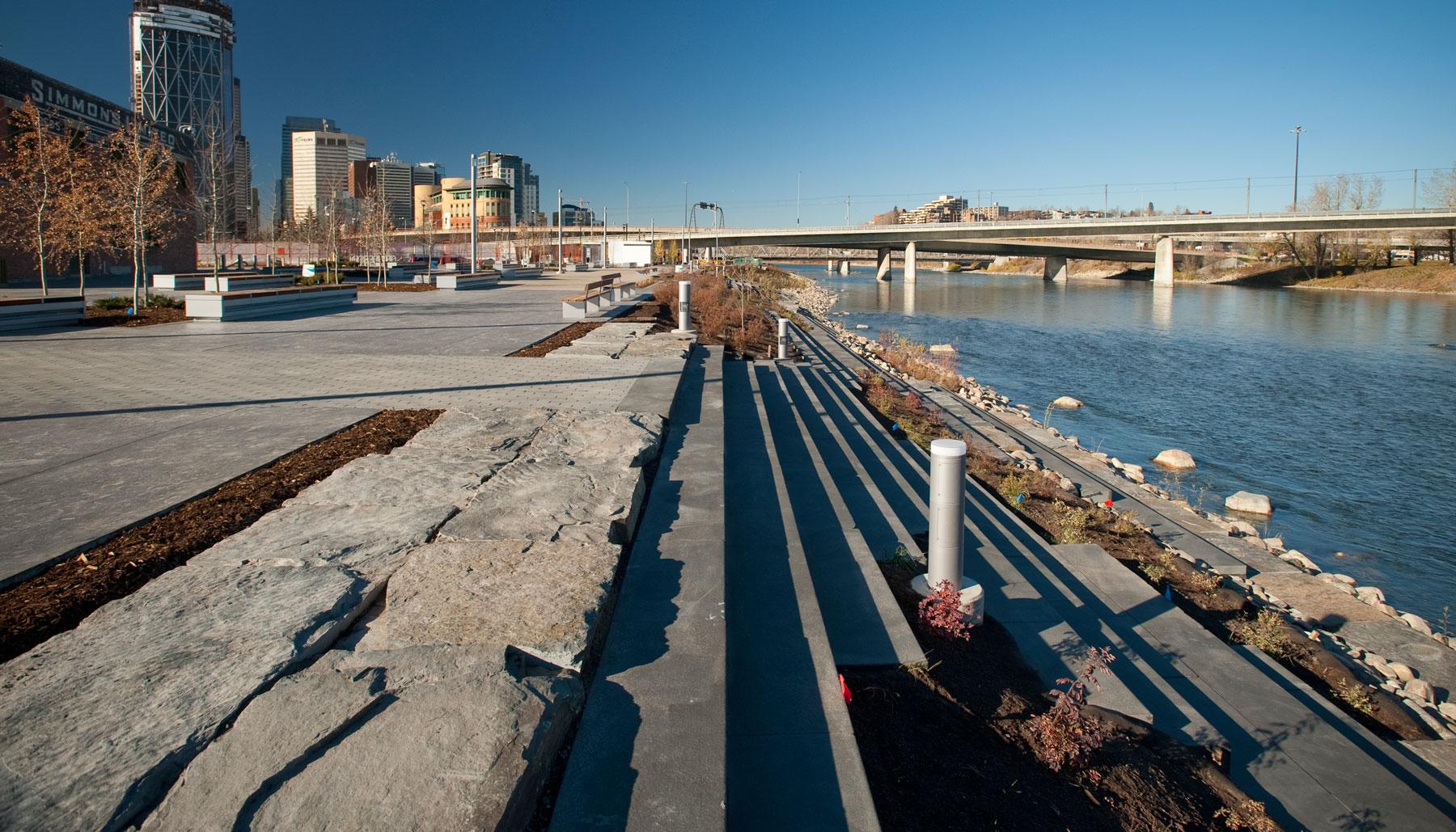 RiverWalk Stage 1: Phase 1–3